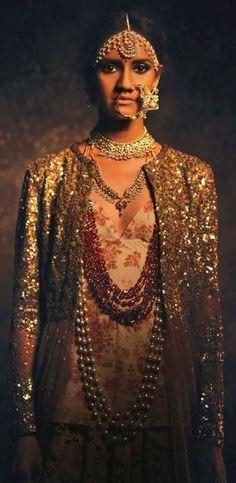 Sabyasachi Mukherjee's line of jewellery, in association with Kishandas & Co. Available at his Mumbai, Kalaghoda store. Bridelan