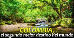 Colombia 2 mejor destino del mundo Lonely Planet, Health Promotion, Aquarium, Paradise, To Go, Community, Portal, Travel, House