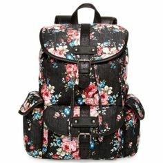 Olsenboye® Glitter Floral Backpack