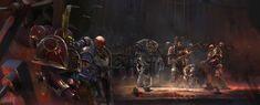 Space Marine, Ork Warboss, Chaos Daemons, Dark Eldar, Warhammer 40k Art, Warhammer Fantasy, Secret Keeper, Knight Art, To Infinity And Beyond