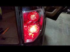 2003-2008 Honda Pilot SUV - Testing Tail Lights After Changing Bulbs - Brake, Turn Signal - YouTube