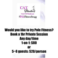 Private 1hr classes available