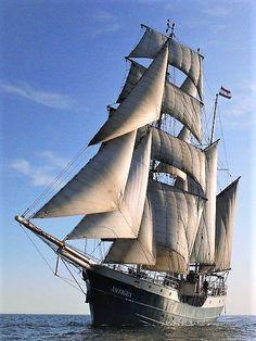 Antigua, tall ship