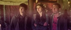 Percy, Annabeth, and Grover in Percy Jackson and The Olympians movie based off of Rick Riordan's series