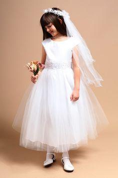 Favorite Scoop Tulle Flower Girl Dress
