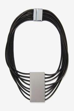 Black / Silver Necklace