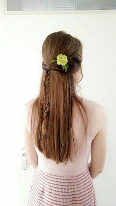 Wedding hair 🌸
