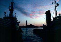 Antonio Passaseo - Venice (Italy) - S. Giorgio Maggiore at dusk