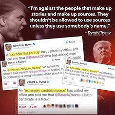 (146) Twitter Donald and his alternate facts... complete conman-jackass!