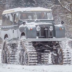 Snow rover. Could have used this a couple months ago.