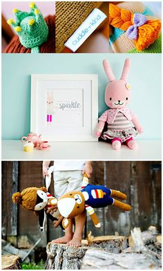 Beautiful Soft Handknit Dolls from Cuddle & Kind provide 10 meals to hungry children for every one sold.