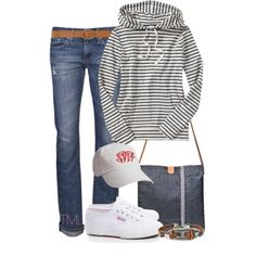 """""""Lazy weekend"""" by tmlstyle on Polyvore"""
