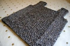 A child's vest pattern. Getting closer to what I want to knit for Luc.