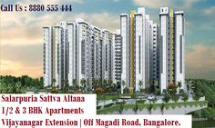 http://www.propreview.in/bangalore/salarpuria-sattva-altana/ Contact Us : 8880 777 111 Salarpuria Sattva Altana is the first ever gated residential property by a well- known builder at Vijaynagar extension .The fabulous connectivity of this location makes this property a fine investment for people looking for premium homes anywhere in Bangalore, but most especially in and around Rajajinagar, Magadi Road, Vijaynagar, Mysore Road and Nagarbhavi areas.