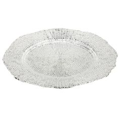 With a luxurious finish on a simple pattern, these Eternity Silver Dinner Plates set the standard for setting an elegant table. This set of four features a glass construction with a textured underside.