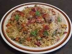 Meat Lover's Jambalaya - also has video