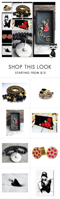 """""""beauty woman"""" by steelwoodstone-sws ❤ liked on Polyvore featuring Paul Smith Red Ear, Giallo, Oliver Gal Artist Co. and Kate Marie"""