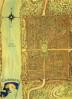 Cairhien, a country in the Westlands, from Wheel of Time