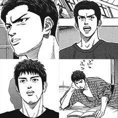 Slam Dunk Manga, Baybayin, Sally Face Game, My Side, Handsome Anime, Manga Illustration, Cute Anime Guys, Slammed, Manga Anime