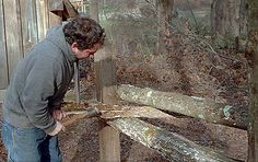 Riving, a Viking-age woodworking technique Green Woodworking, Woodworking Workbench, Woodworking Projects, Wood Logs, Wood Tree, Splitting Wood, Rough Wood, Viking Age, Woodworking Techniques