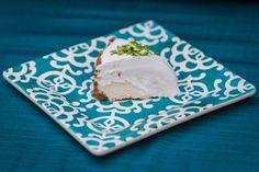 Coconut Key Lime Cheesecake - loricoxfitness.com - Gluten-free cheesecake