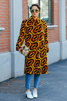 Graphic Content: Why We're Head Over Heels for Fall's Swinging Prints - Gallery - Style.com
