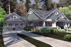 Cottage   Craftsman   Farmhouse  House Plan 75137