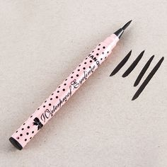 1 Pcs Wanita Lady Beauty Makeup Eyeliner Hitam Pena Tahan Air tahan lama Liquid Eye Liner Pensil Make Up Kosmetik lucu Alat
