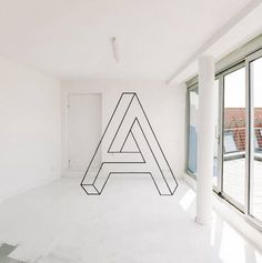 Graphic Designer Decorates Hostel With Mesmerizing Geometric Optical Illusions - DesignTAXI.com