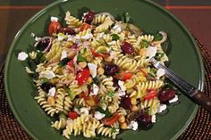 Pasta Salad With Chickpeas and Olives #KitchenBoss