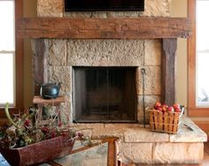 Rustic Fireplace Mantels   Fireplace Mantel Ideas   Olde Wood