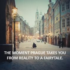 The moment Prague takes you from reality to a fairytale... http://www.bohemia-apartments.com/ #czech #czechrepublic