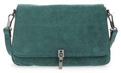 Elizabeth and James 'Mini Cynnie' Suede Crossbody Bag - $395.00