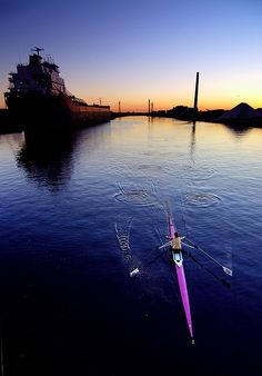 get me on the water.  i wanna row.  rowing lessons/crew team.