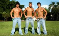 HUNKS IN BLUE JEANS