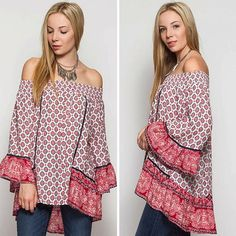 This summer must have! Bohemian Paisley Print Off Shoulder Tunic✔️ @classicpaperdoll #cpdfave #boho #freeshipping #onlineshopping #여름코디 #보호스타일 #인스타스타일