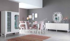 Zeus Avangarde Yemek Odası  en güzel yemek odası modelleri yıldız mobilya alışveriş sitesinde #diningroom #bedroom #avangarde #modern #pinterest #yildizmobilya #furniture #room #home #ev #young #decoration #moda #trend      http://www.yildizmobilya.com.tr/