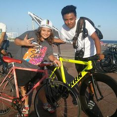 #krnbikes #redhookcrit #rhcbcn4  Corredor krn con lusiraider