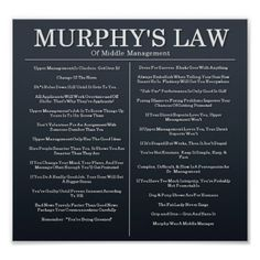Shop Murphys Laws of Middle Management Poster created by miipoto. Empathy Quotes, Wisdom Quotes, Life Quotes, Qoutes, Godly Quotes, Gratitude Quotes, Affirmation Quotes, Quotes Positive, Sarcastic Quotes