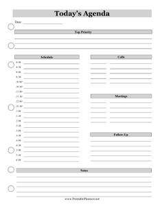 Plan Your Daily Schedule In Minute Intervals Using This