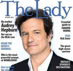 Colin Firth, The Lady magazine, June 2013