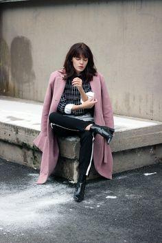 WST Pink Love Coat on Fashion Worries Blog