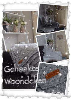 Deze gehaakte woondeken (plaid) heb ik gemaakt met 14 bollen Royal van Zeeman op haaknaald 10 met dubbele draad in granietsteek. De deken is heerlijk warm en een aanwinst in onze woonkamer.