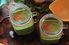 Peanut Butter and Banana Green Smoothie #greensmoothie #peanutbutter #peanutbutterbanana