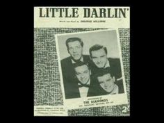 The Diamonds - Little Darlin' The lead singer is the actor Tom Hanks dad