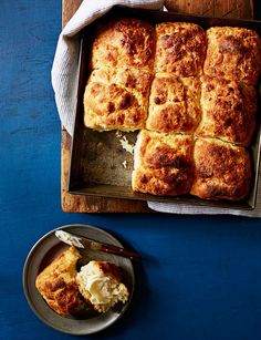 A special scoop-and-shape method yields the tenderest biscuits ever. Get the recipe for Quick 'n' Easy Southern Biscuits Easter Recipes, Brunch Recipes, Breakfast Recipes, Easter Ideas, Recipes Dinner, Breakfast Ideas, Spring Recipes, Savoury Biscuits, Buttermilk Biscuits