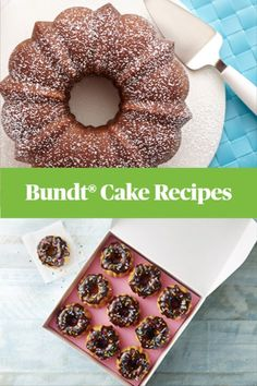 The classic Bundt® cake is perfect for any occasion! Endlessly versatile and fancy enough to show off your baking skill. Find the perfect Bundt® cake recipe today. Just Desserts, Delicious Desserts, Yummy Food, Baking Recipes, Cake Recipes, Dessert Recipes, Recipe Land, Eat Dessert First, How Sweet Eats