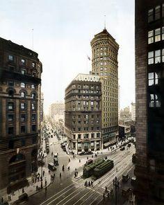 Hobart Building circa 1920