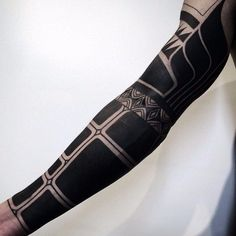 35 Delightful Blackwork Tattoo Designs-Redefining the Art of Tattooing with Black Ink