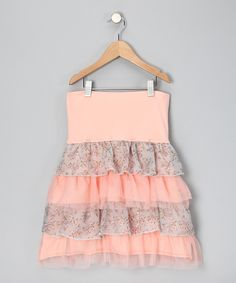 AW! (But with straps, because i know how I was all growing up and one klutzy step means that dress is gone.)
